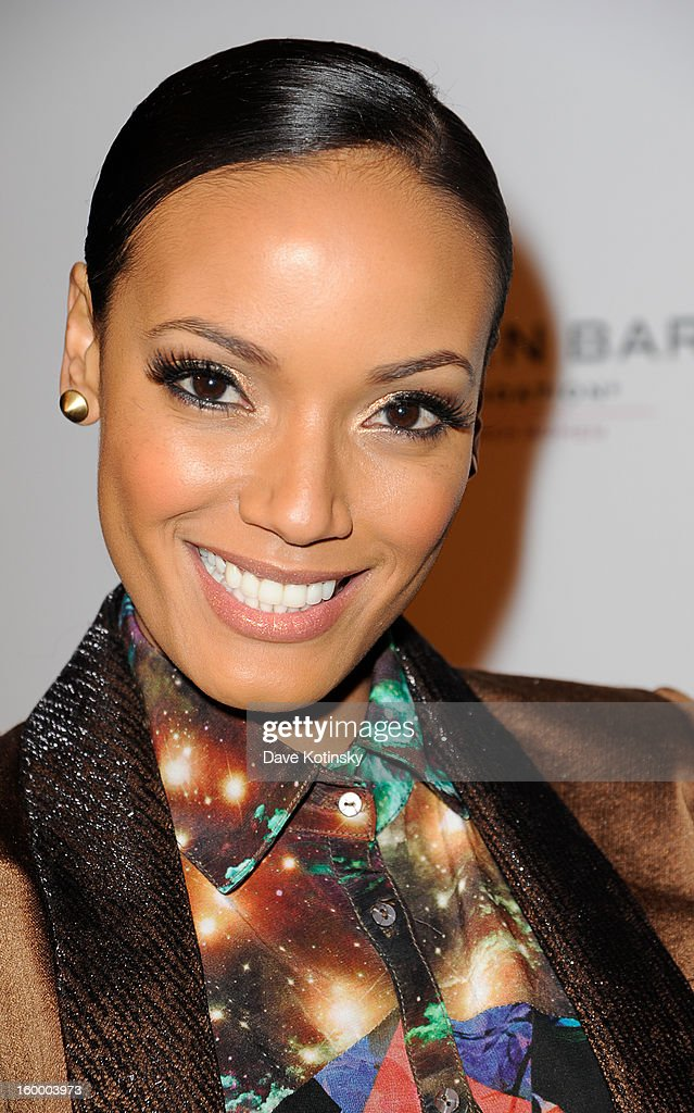 Selita Ebanks attends the Vera Launch at Ambassadors River View at the United Nations on January 24, 2013 in New York City.