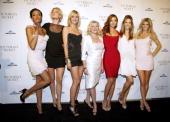 Selita Ebanks Doutzen Kroes Heidi Klum Victoria's Secret CEO Sharen Turney Miranda Kerr Alessandra Ambrosio and Marisa Miller attend the grand...