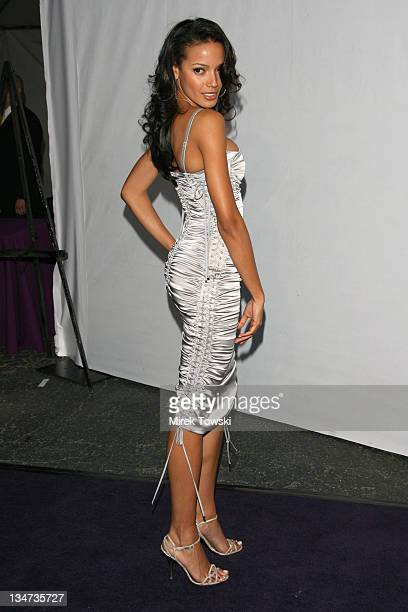 Selita Ebanks during Los Angeles Lakers 3rd Annual Mirage Las Vegas Casino Night/Bodog Celebrity Poker Invitational Benefiting the Lakers Youth...