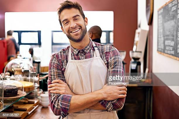 Je vendre le meilleur café de la ville !