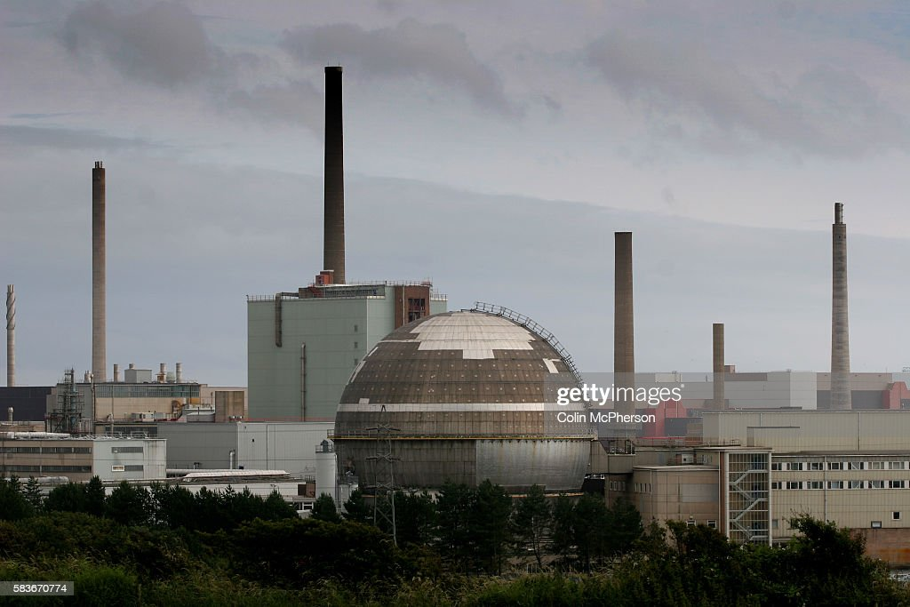 Sellafield nuclear power station in Cumbria on the day before the British Government was to receive a report outlining future energy requirements and...