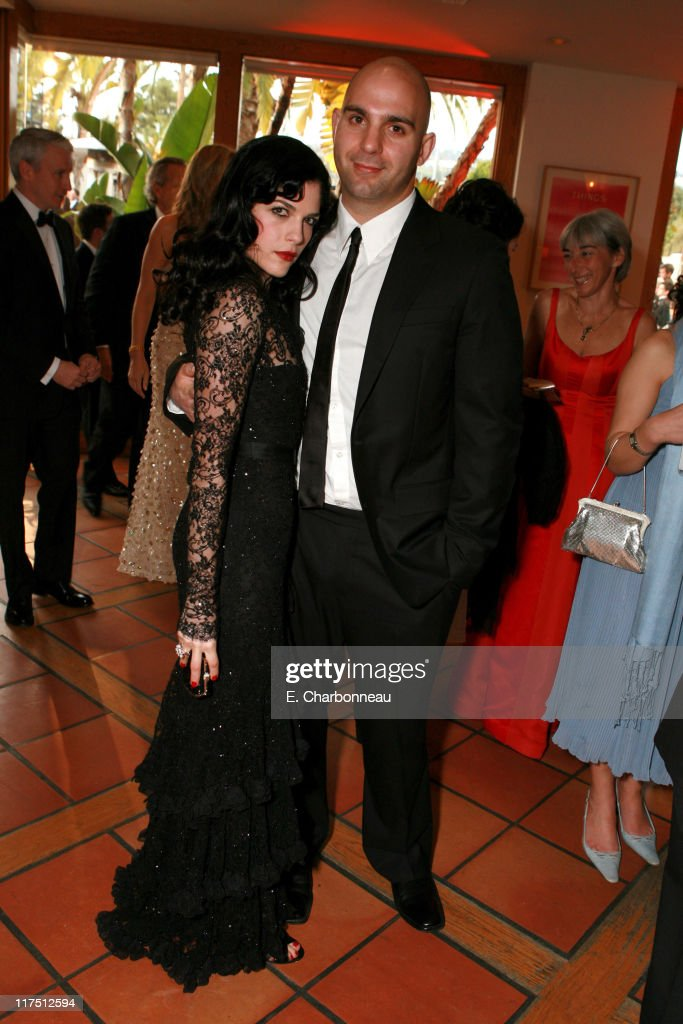 <a gi-track='captionPersonalityLinkClicked' href=/galleries/search?phrase=Selma+Blair&family=editorial&specificpeople=171869 ng-click='$event.stopPropagation()'>Selma Blair</a> and <a gi-track='captionPersonalityLinkClicked' href=/galleries/search?phrase=Ahmet+Zappa&family=editorial&specificpeople=804111 ng-click='$event.stopPropagation()'>Ahmet Zappa</a> during 2006 Vanity Fair Oscar Party Hosted by Graydon Carter at Morton's in Beverly Hills, California, United States.