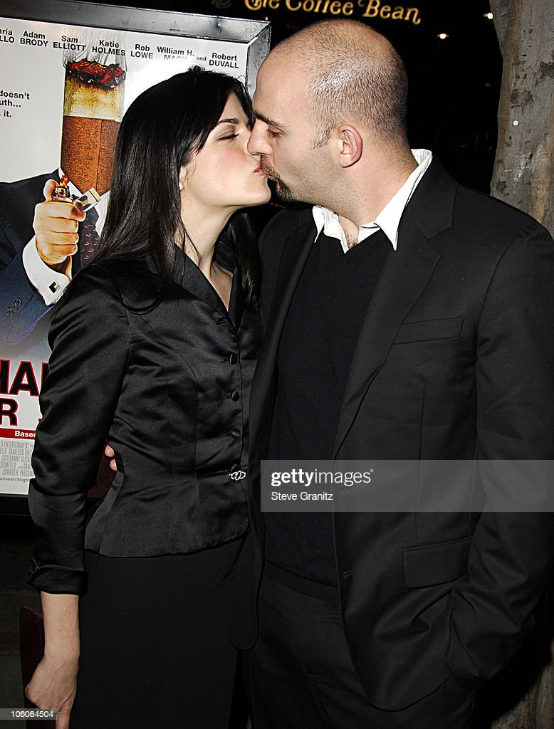 <a gi-track='captionPersonalityLinkClicked' href=/galleries/search?phrase=Selma+Blair&family=editorial&specificpeople=171869 ng-click='$event.stopPropagation()'>Selma Blair</a> and <a gi-track='captionPersonalityLinkClicked' href=/galleries/search?phrase=Ahmet+Zappa&family=editorial&specificpeople=804111 ng-click='$event.stopPropagation()'>Ahmet Zappa</a> during 'Thank You For Smoking' Los Angeles Premiere - Arrivals at Directors Guild Of America in Los Angeles, California, United States.