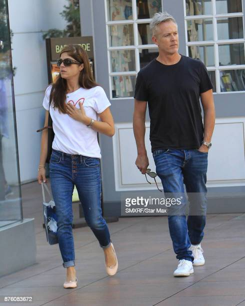 Selma Blair and Ron Carlson are seen on November 18 2017 in Los Angeles CA