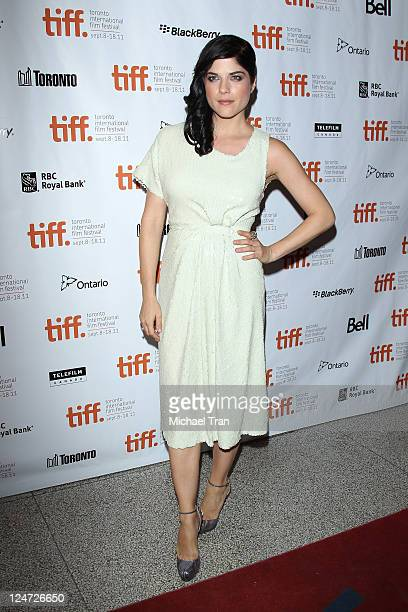 Selma Blair arrives at the 'Dark Horse' premiere during the 2011 Toronto International Film Festival held at The Elgin Theater on September 11 2011...