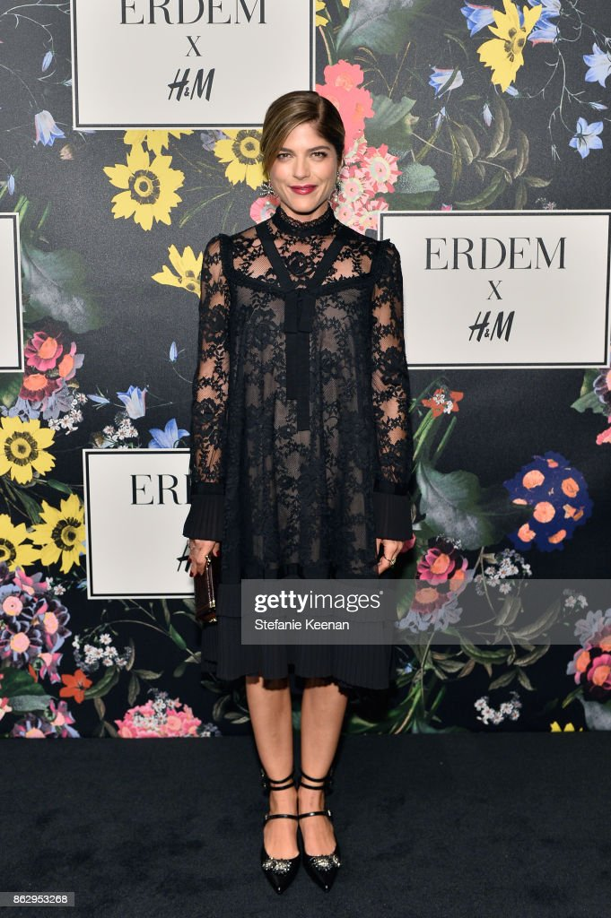 Selma Blair at H&M x ERDEM Runway Show & Party at The Ebell Club of Los Angeles on October 18, 2017 in Los Angeles, California.