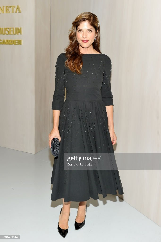 Selma Blair at the Hammer Museum 15th Annual Gala in the Garden with Generous Support from Bottega Veneta on October 14, 2017 in Los Angeles, California.