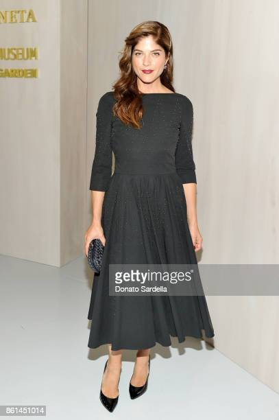 Selma Blair at the Hammer Museum 15th Annual Gala in the Garden with Generous Support from Bottega Veneta on October 14 2017 in Los Angeles California