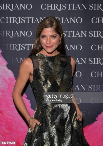 Selma Blair attends Christian Siriano's celebration of the launch of his new book 'Dresses To Dream About' in Los Angeles at Chateau Marmont on...