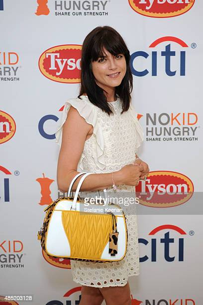 Selma Blair attends No Kid Hungry Breakfast Party in part with Kellogg's Citi and Tyson on August 25 2015 in Beverly Hills California