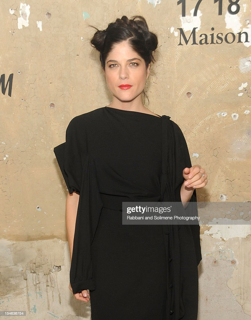 Selma Blair attends the Maison Martin Margiela with H&M global launch event at 5 Beekman on October 23, 2012 in New York City.