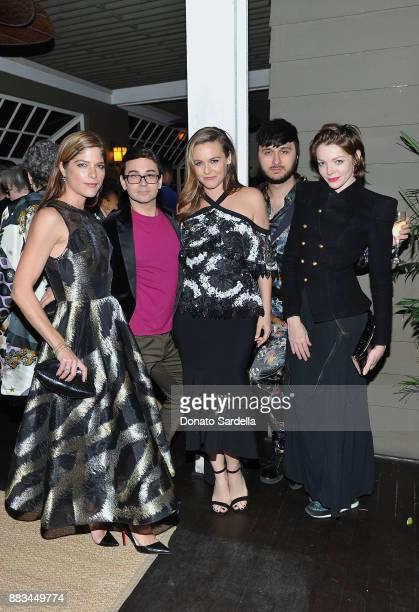 Selma Blair Christian Siriano Alicia Silverstone Brad Walsh and Nicole Laliberte celebrate the launch of Siriano's new book 'Dresses To Dream About'...
