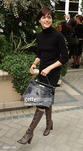 Selma Blair during 9th Annual Premiere Magazine 'Women In Hollywood' Luncheon at The Four Seasons Hotel in Beverly Hills California United States