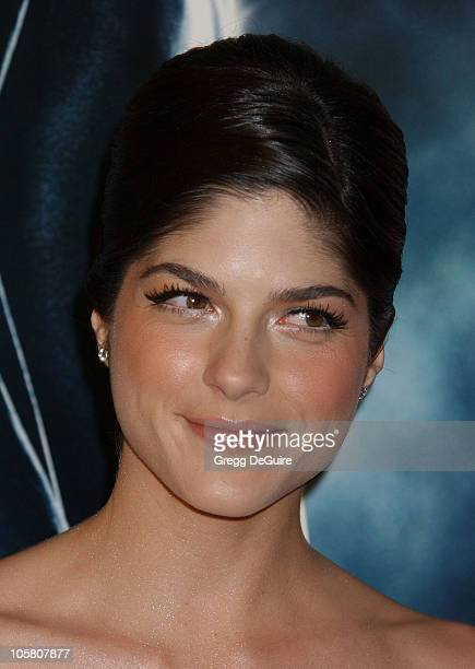 Selma Blair during 'Hellboy' Los Angeles Premiere Arrivals at Village Theatre in Westwood California United States
