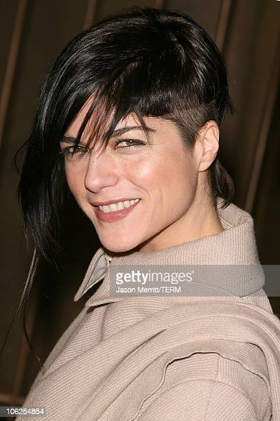 Selma Blair during 'Pan's Labyrinth' Los Angeles Screening Arrivals at Egyptian Theater in Hollywood California United States