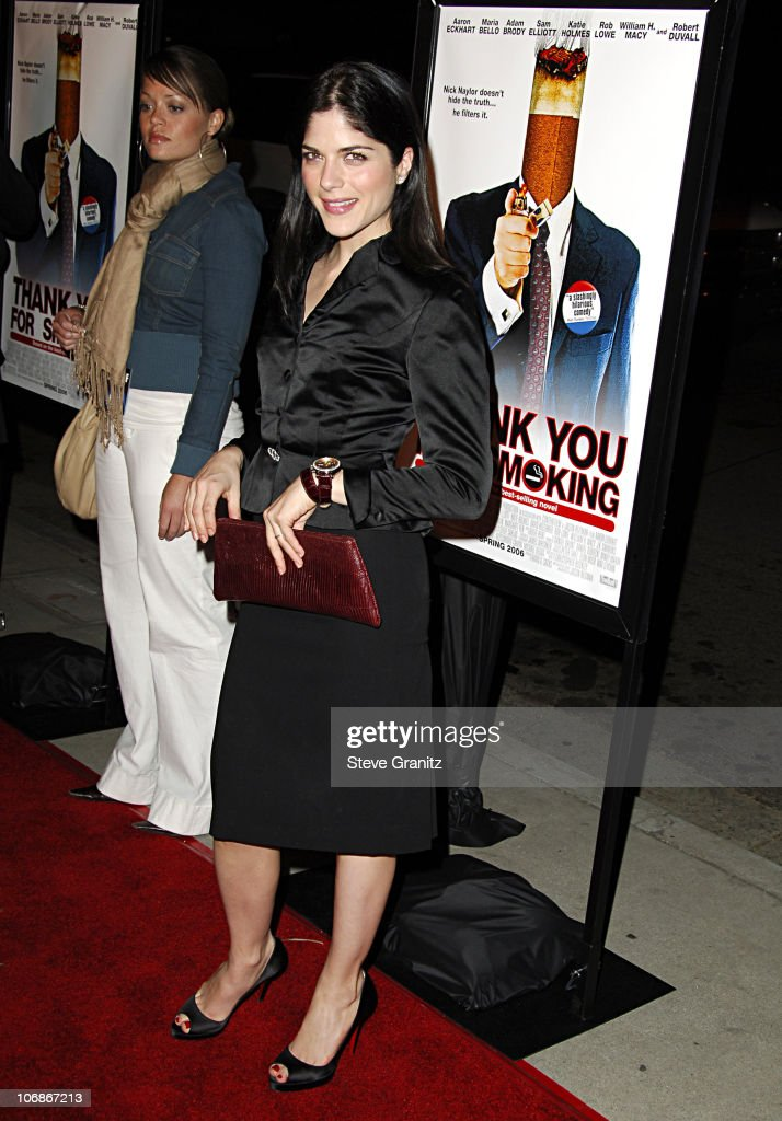 Selma Blair during 'Thank You For Smoking' Los Angeles Premiere - Arrivals at Directors Guild Of America in Los Angeles, California, United States.