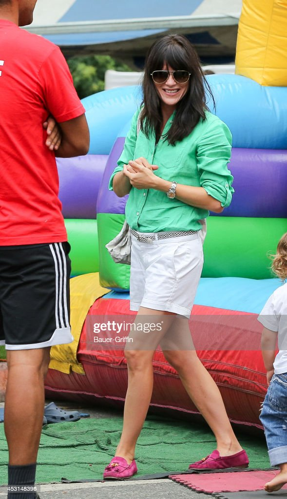 <a gi-track='captionPersonalityLinkClicked' href=/galleries/search?phrase=Selma+Blair&family=editorial&specificpeople=171869 ng-click='$event.stopPropagation()'>Selma Blair</a> is seen on August 03, 2014 in Los Angeles, California.