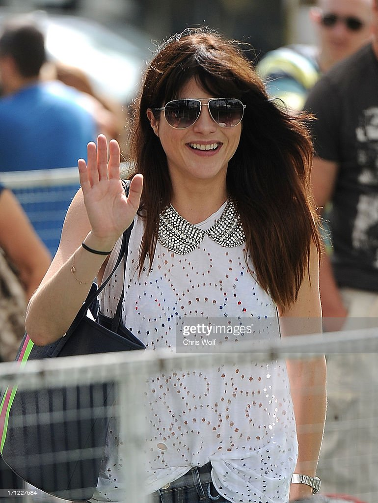 Selma Blair is seen on June 23, 2013 in Los Angeles, California.