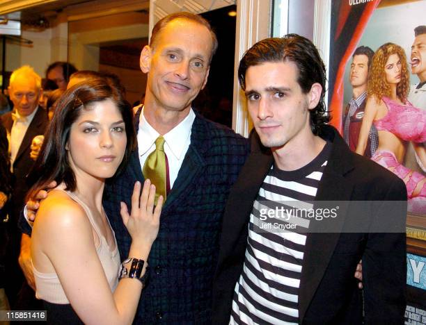 Selma Blair John Waters and James Ransome during 'A Dirty Shame' Baltimore Premiere at The Senator Theatre in Baltimore MD United States