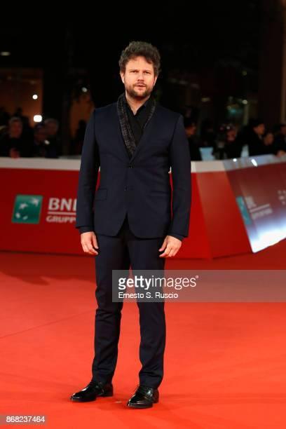 Selton Mello walks a red carpet for 'O Filme De Minha Vida' during the 12th Rome Film Fest at Auditorium Parco Della Musica on October 30 2017 in...