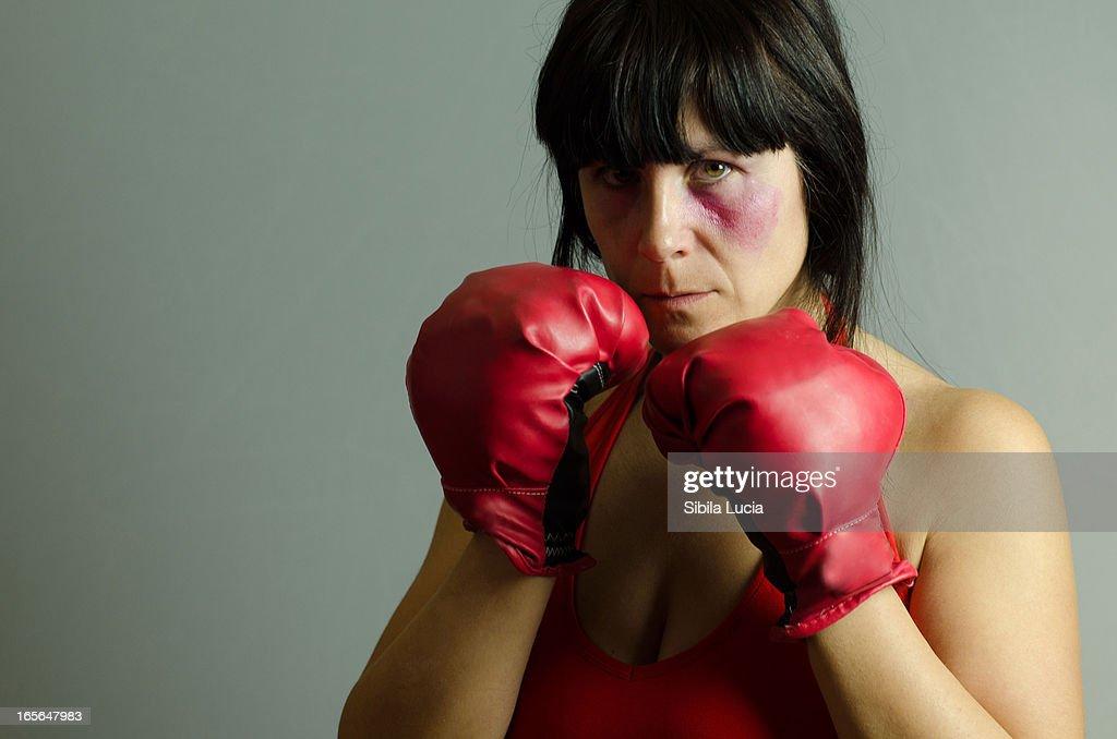 Semaforo rojo a la violencia : Stock Photo