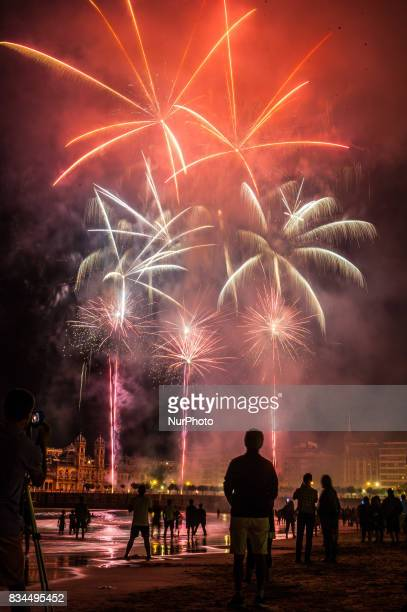 Semana Grande Donosti The pyrotechnics chinesse Liuyang New Year Fireworks during your participation in the contest of fireworks in San Sebastian San...