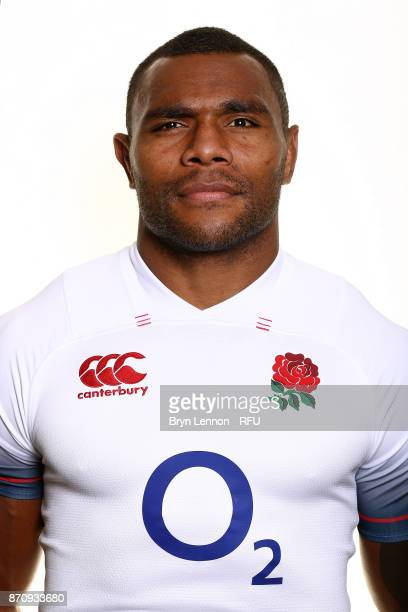 Semesa Rokoduguni of England poses for a portrait during the England Elite Player Squad Photo call at Pennyhill Park on November 6 2017 in Bagshot...
