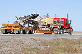 Transporting Construction Machinery