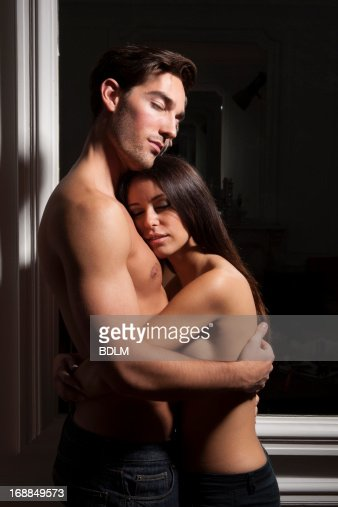 semi nude couple fuck images