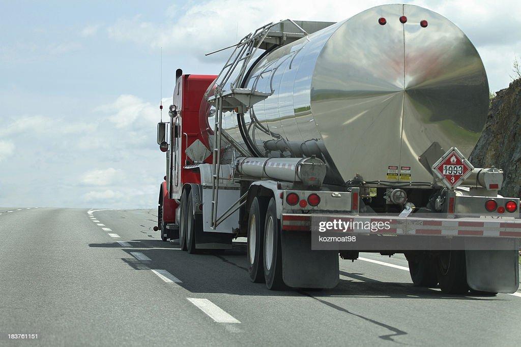 Semi Tanker Truck