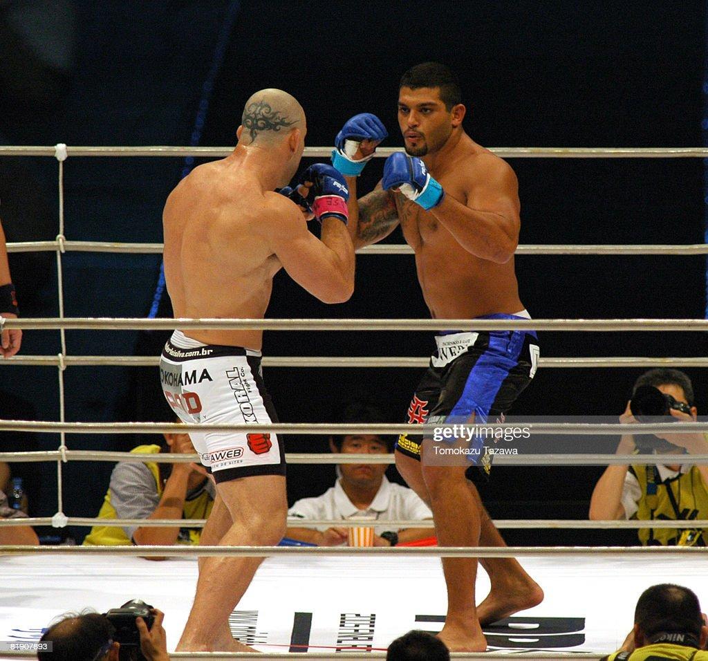 Semi-Final Match, Wanderlei Silva VS Ricardo Arona
