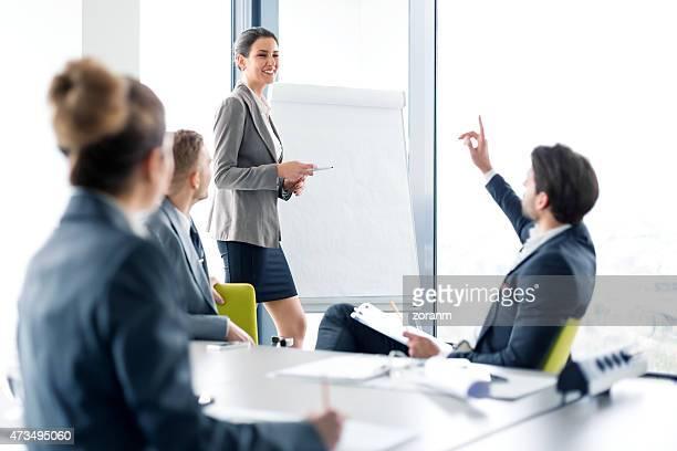 Seminario para las personas de negocios