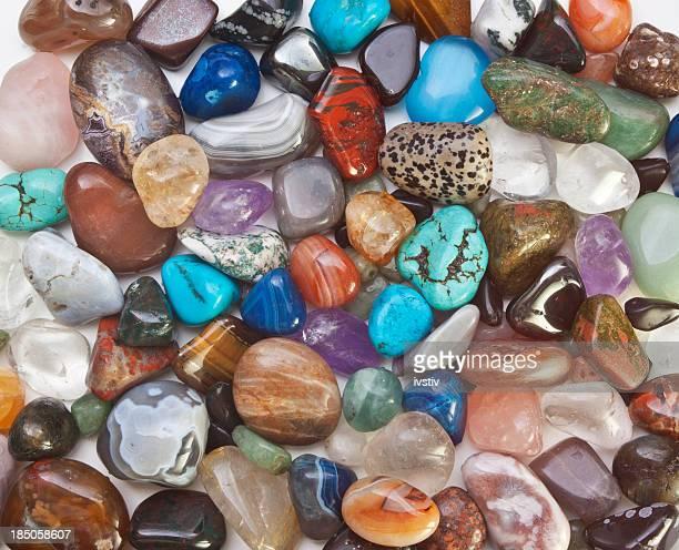 Semi-precious gems