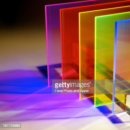 Semitransparent color