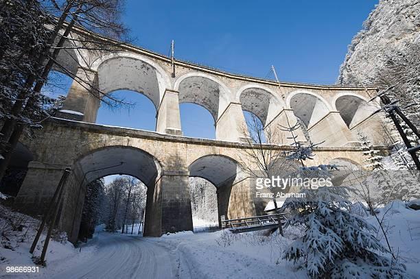 Semmering railway viaduct, Austria