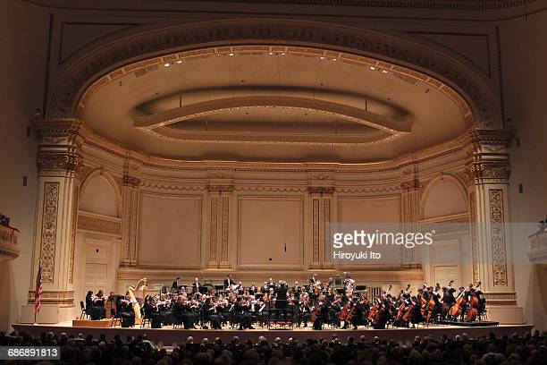 Semyon Bychkov conducts the Royal Concertgebouw Orchestra at Carnegie Hall on Wednesday night November 30 2016 This image Semyon Bychkov conducts the...