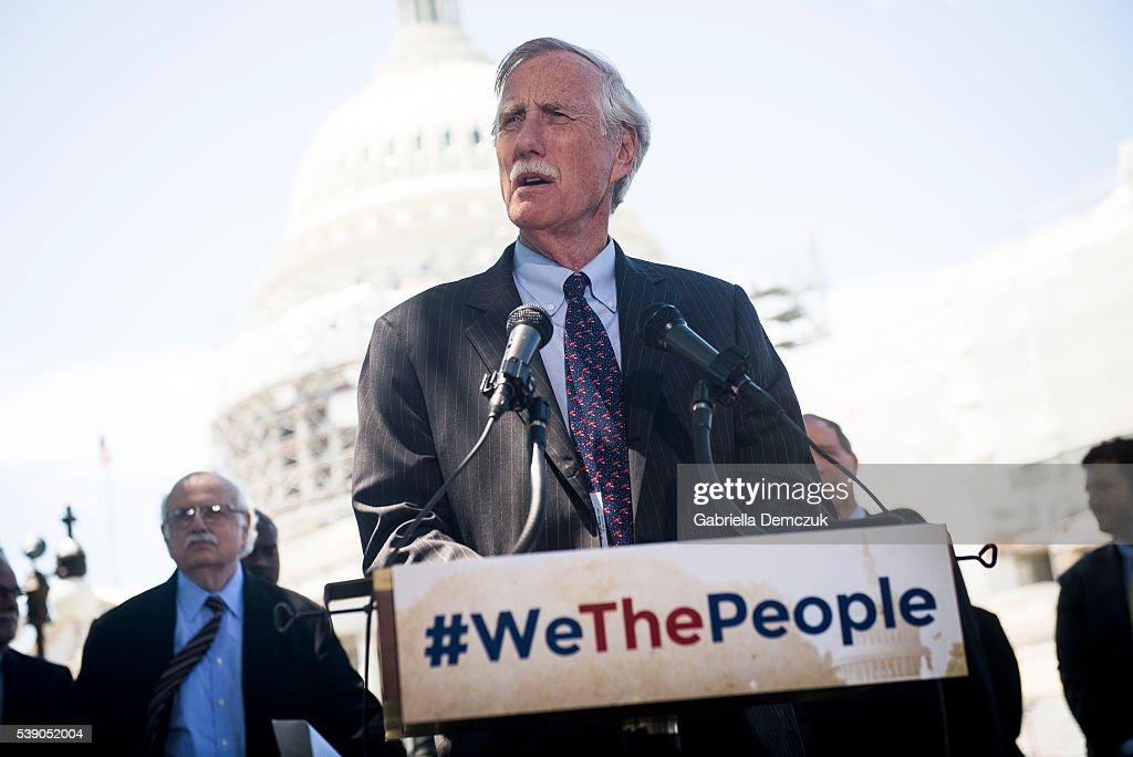 Senate Democrats Unveil New #WeThePeople Legislative Package
