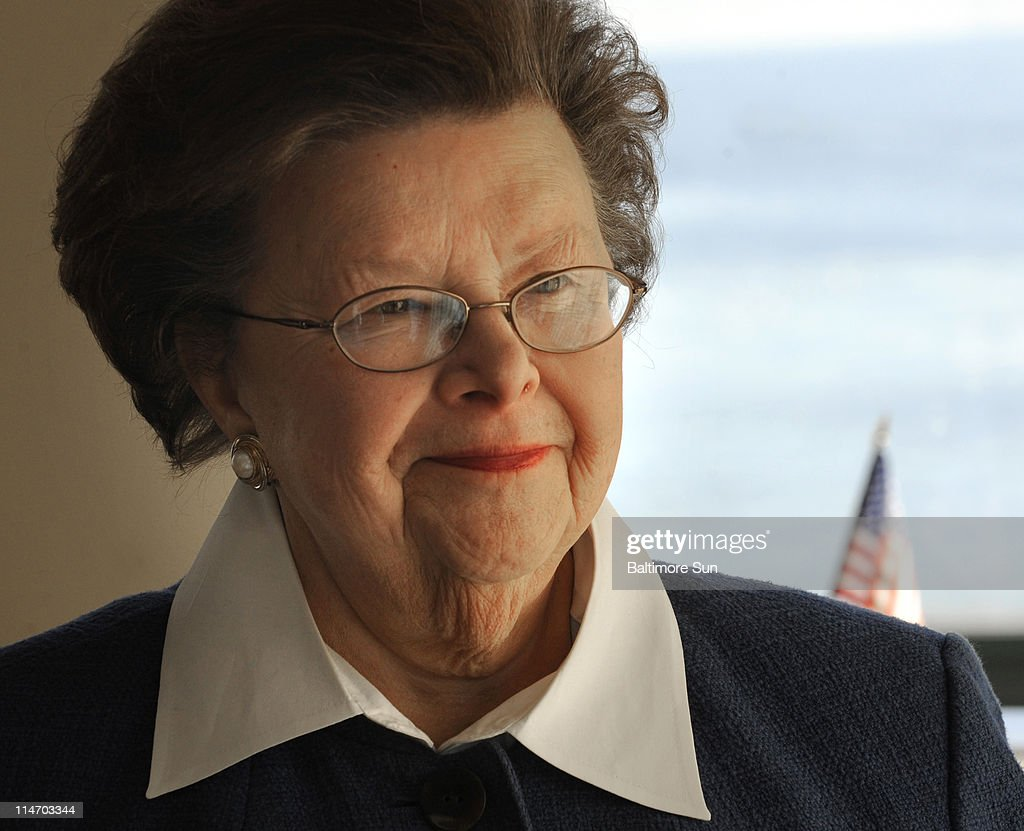U.S. Sen. <a gi-track='captionPersonalityLinkClicked' href=/galleries/search?phrase=Barbara+Mikulski&family=editorial&specificpeople=226768 ng-click='$event.stopPropagation()'>Barbara Mikulski</a> (D-MD) is the longest-serving female in the history of the Senate. Not only doe she handle her legislative duties, but she travels the country campaigning for other women candidates for office. She is shown in January 2011 at her district office in Baltimore, Maryland.
