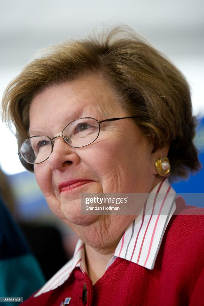 Sen. Mikulski Discusses Proposed Legislation To Aid Auto Industry