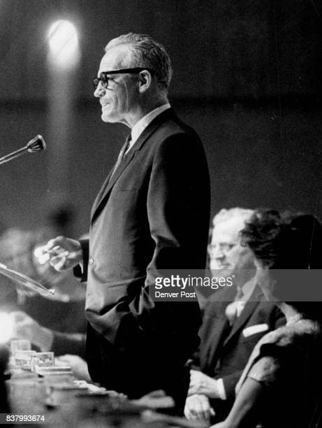 Sen Barry Goldwater Of JFK 'he's timid' Credit Denver Post