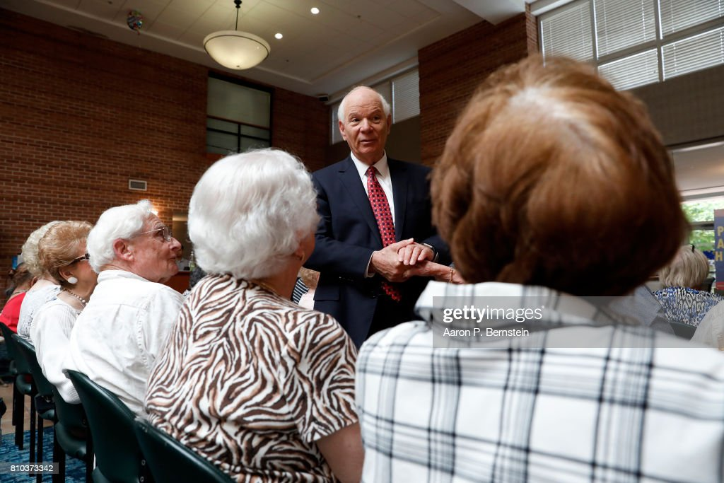 Sen. Ben Cardin Holds Health Care Town Hall In Maryland