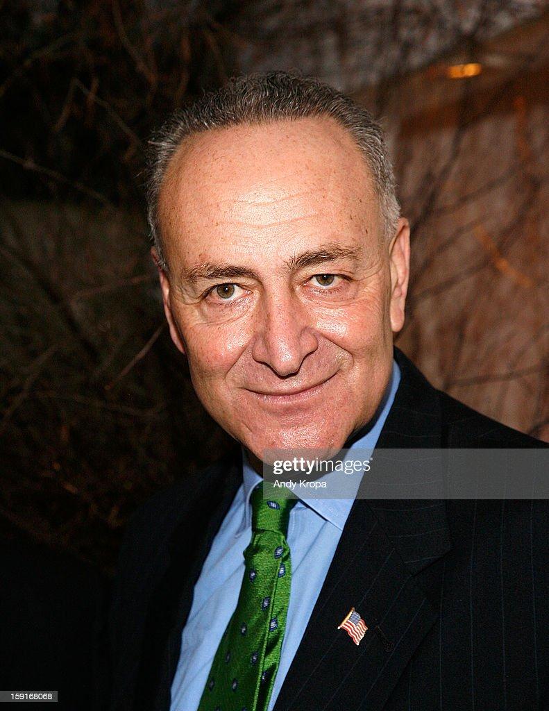 Sen. Charles Schumer attends Loews Regency Hotel's Inaugural Power Breakfast at Park Avenue Winter on January 9, 2013 in New York City.