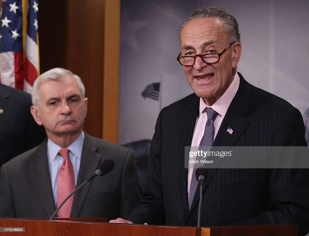 Image result for PHOTO OF CHUCK SCHUMER AND JACK REED