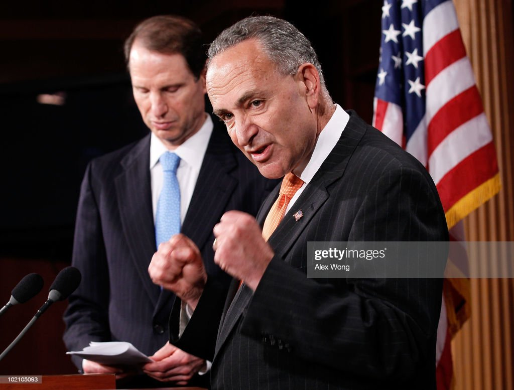 Sen. Schumer Discusses BP Dividend