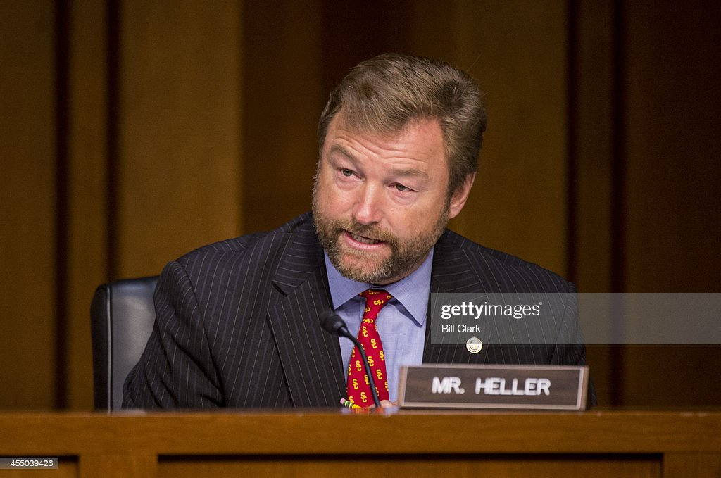 Image result for PHOTOS OF SEN DEAN HELLER