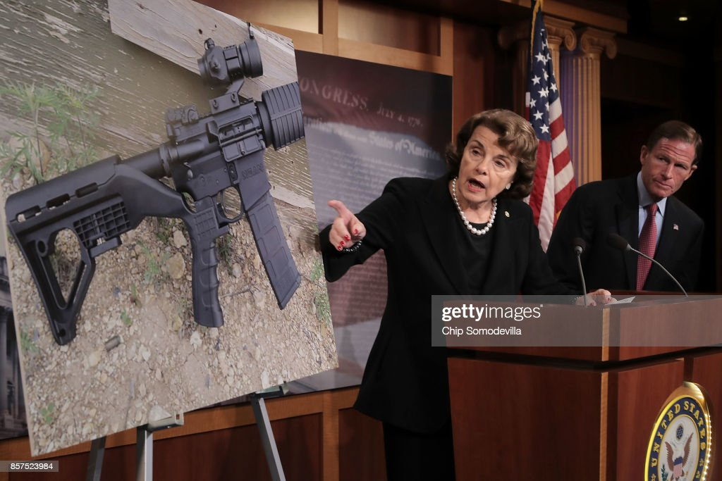 Sen. Feinstein Introduces Bill To Ban Devices To Make Weapons Fully Automatic