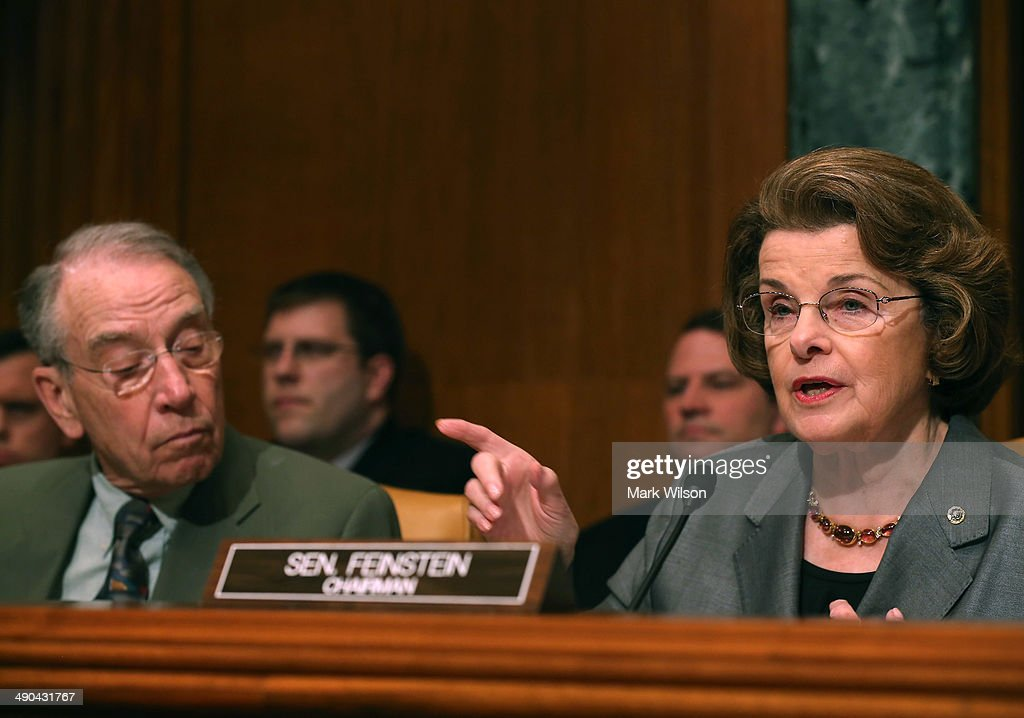Image result for photos of chuck grassley and dianne feinstein