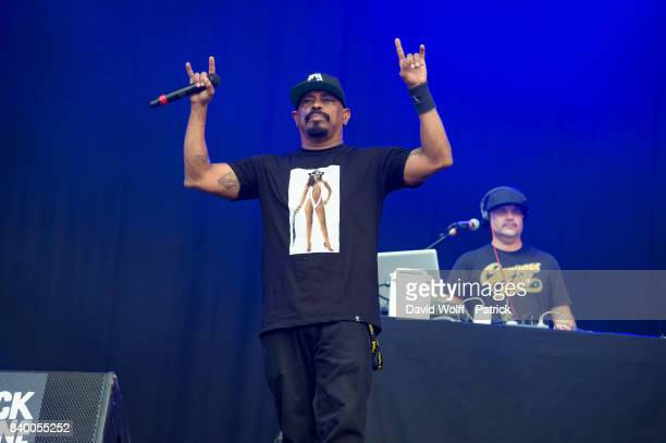 Sen Dog from Cypress Hill performs during Rock en Seine Festival at Domaine National de SaintCloud on August 27 2017 in Paris France