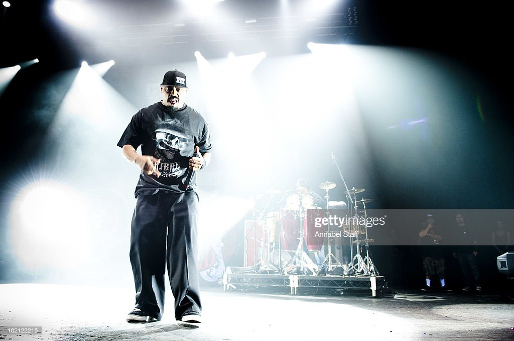 Sen Dog of Cypress Hill performs on stage at Brixton Academy on June 15, 2010 in London, England.