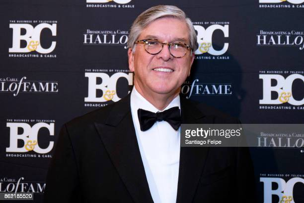 Sen Gordon H Smith attends the 2017 Broadcasting Cable Hall Of Fame 27th Anniversary Gala at Grand Hyatt New York on October 16 2017 in New York City